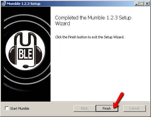Mumble Install Screen 5